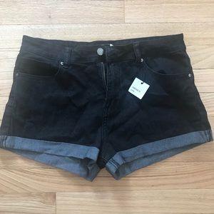 NEW Black Forever 21 Shorts